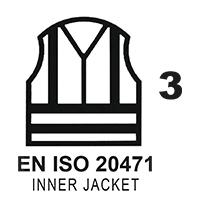 EN ISO 20471 Cl.3 Inner Jacket