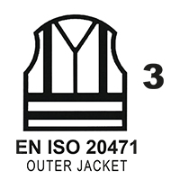EN ISO 20471 Cl.3 Outer Jacket