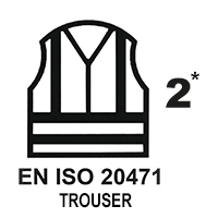 EN ISO 20471 Cl.2* PANTS
