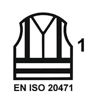 EN ISO 20471 Cl.1 HV