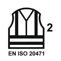 EN ISO 20471 Cl.2 HV
