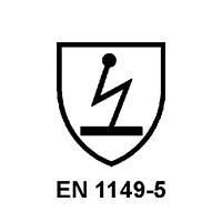 EN 1149-5   (RISCHIO ELETTRICO)