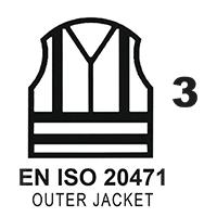 EN ISO 20471 Cl.3 Outer Jacket